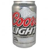 Bière COORS LIGHT en cannette– Coors Light Beer