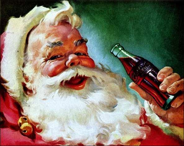 Père Noel Coca Cola 2013 le Père Noël Selon Coca-cola