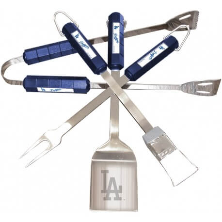 "Kit BBQ MLB Los Angeles Dodgers  - ""MLB BBQ Dodgers Set"""