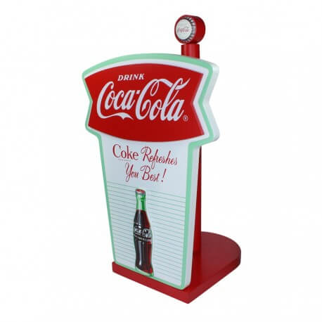 Porte essuie tout coca cola Vintage