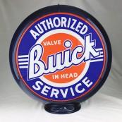 Globe de pompe à essence Opaline Buick