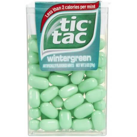 Tic Tac wintergreen