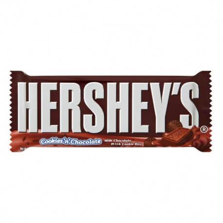Barre de chocolat Hershey's cookie'n'chocolate