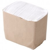 Serviettes de table en papier boite de 250 : «Table napkins»