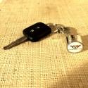 Porte clef  piston Corvette - Piston keychain Corvette