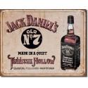 Plaque publicitaire métal Jack Daniel's Tennessee