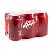 Pack Dr Pepper original x6