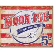 Plaque publicitaire métal moon pie