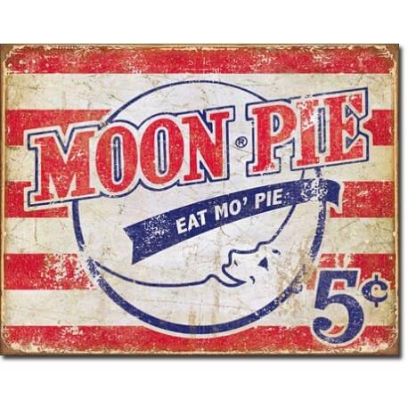 plaque publicitaire moon pie us way of life. Black Bedroom Furniture Sets. Home Design Ideas