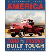 Plaque publicitaire métal ford pick up trucks