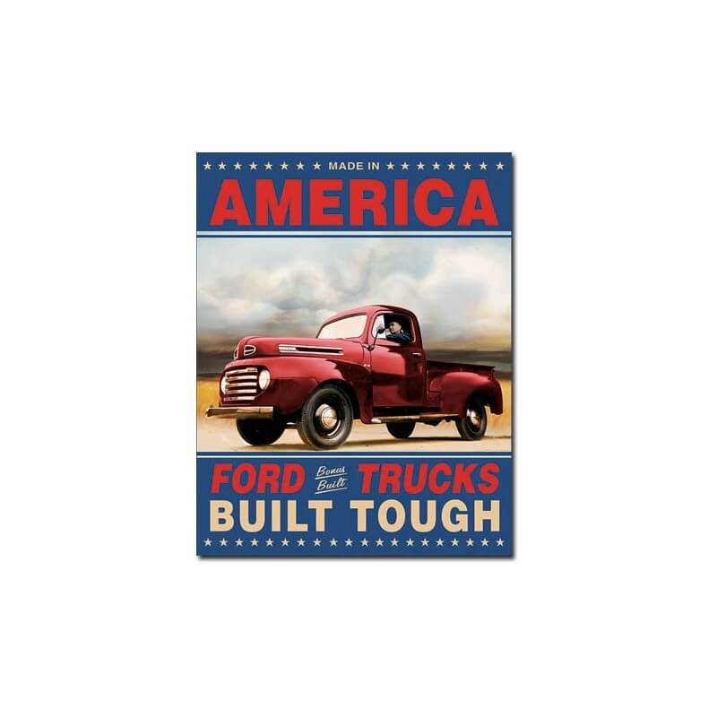 plaque publicitaire ford pick up trucks us way of life. Black Bedroom Furniture Sets. Home Design Ideas