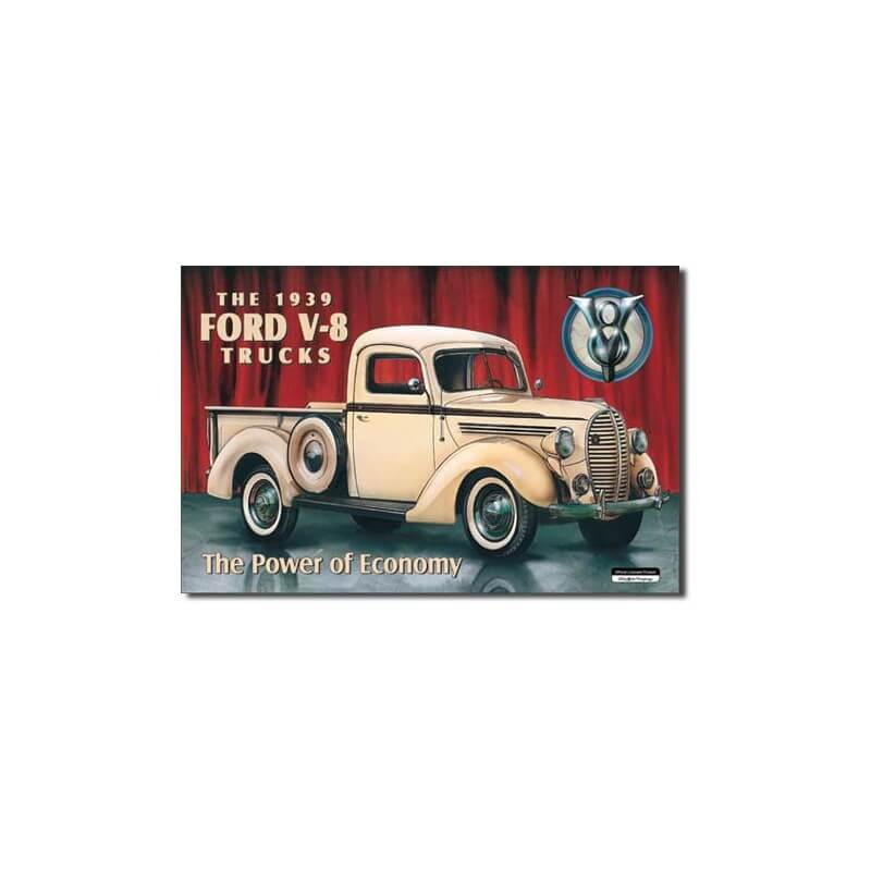 plaque publicitaire ford pick up us way of life. Black Bedroom Furniture Sets. Home Design Ideas