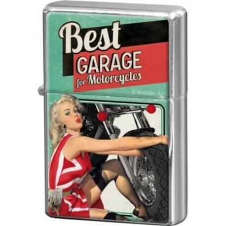 Briquet essence Pin Up Best Garage
