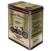 Boite métal Harley-Davidson haute american classic