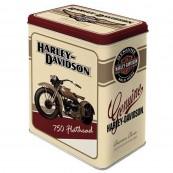 Boite métal Harley-Davidson 750 Flathead