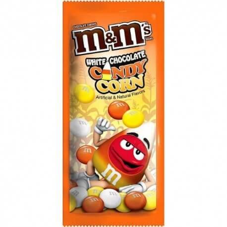 M&M's candy corn édition spéciale Halloween