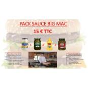 Pack spécial sauce Big Mac