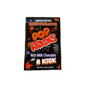 Bonbon Pop rocks au chocolat