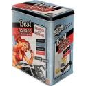 Boite métal pin up Best garage