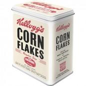 Boite métal Kellogg's Corn Flakes vintage