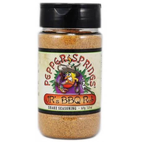 Assaisonnement TEX-MEX JR's BBQ Rub pepper springs