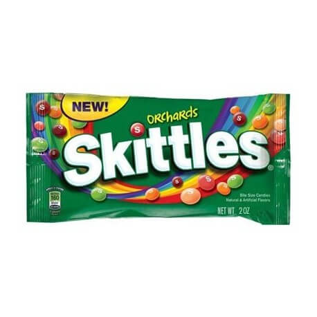Skittles Orchards goûts fruits du verger - 56.7g