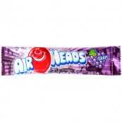 Bonbon Airheads goût raisin (x2) : « Airheads grape taffy candy »