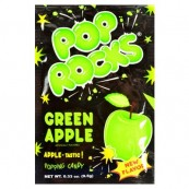 Bonbon Pop rocks à la pomme : « Pop rocks green Apple »