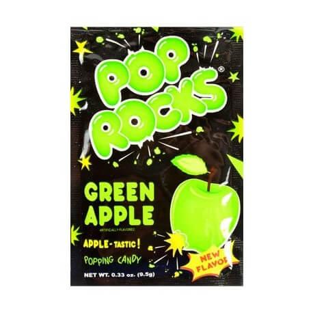 Bonbon Pop rocks à la pomme: «Pop rocks green Apple»