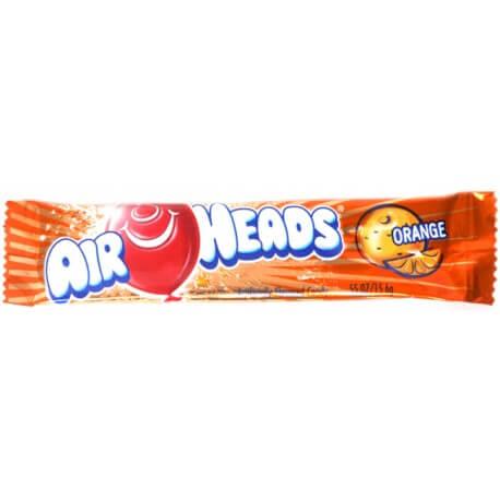 Bonbon Airheads à l'orange(x2) : «Airheads orange taffy candy»