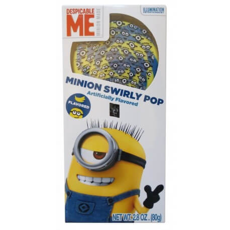 Sucette Minion - Minion swirly pop
