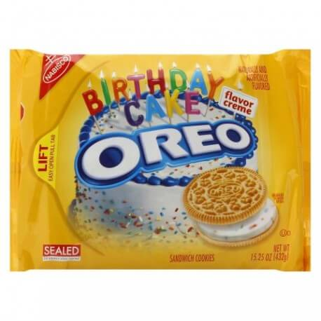 OREO Golden Birthday cake - 432 g