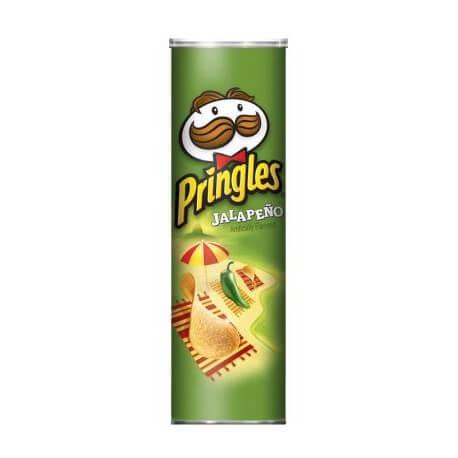 Chips PRINGLES goût piment Jalapeno