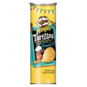 Chips PRINGLES goût Tortillas Southwestern Ranch