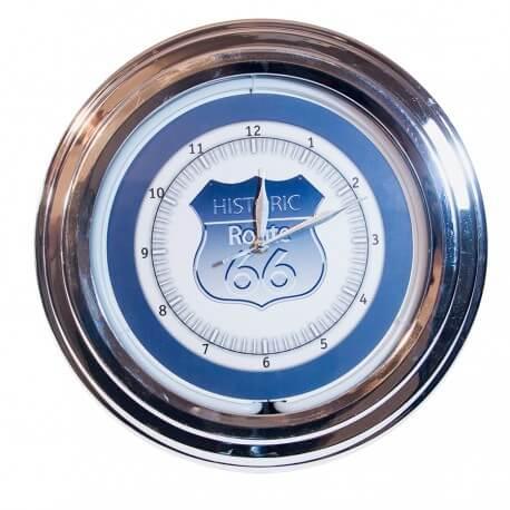 Horloge néon Historic Route 66