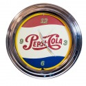 Horloge néon Pepsi cola