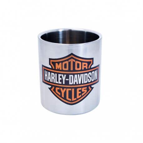 Mug inox double paroi Isotherme Harley Davidson