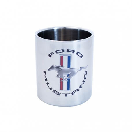 Mug inox double paroi Isotherme Ford Mustang