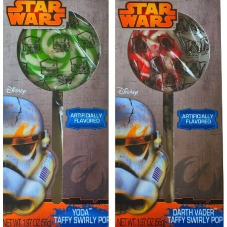 Sucette géante Star Wars - Yoda taffy swirly pop