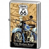 Briquet essence route 66 the mother road