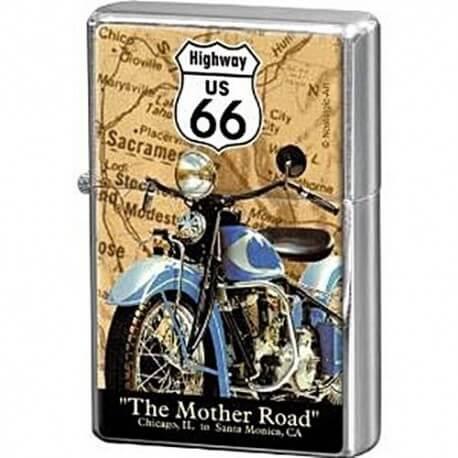 Briquet essence route 66 the mother road