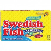 Swedish Fish Assorted Theatre Box 99g - bonbons en forme de poissons