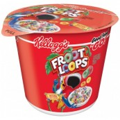Céréales américains Kellogg's : Froot Loop en cup