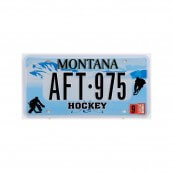 Plaque immatriculation Montana Hockey