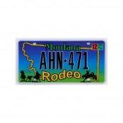 Plaque immatriculation Montana Rodeo