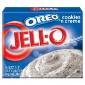 Jello Pudding cookies 'n' creme OREO