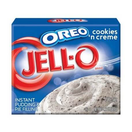 Jello Pudding cookies 'n' creme OREO