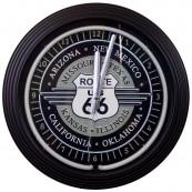 Horloge néon états Route 66