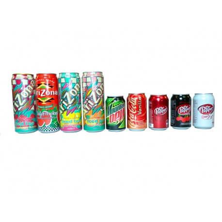 Pack Thirsty votre panier gourmand sodas Américains