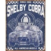 Plaque métal décorative Shelby